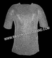 Wedge Riveted Chainmail Shirt M Size CWR004