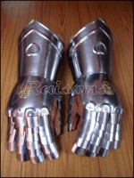 Medieval Knight Gauntlets